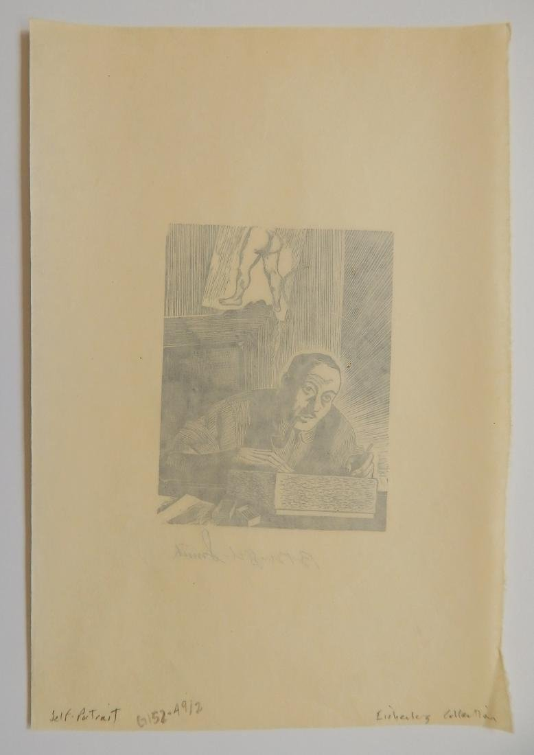 Bernard Brussel-Smith 2 wood engravings - 4
