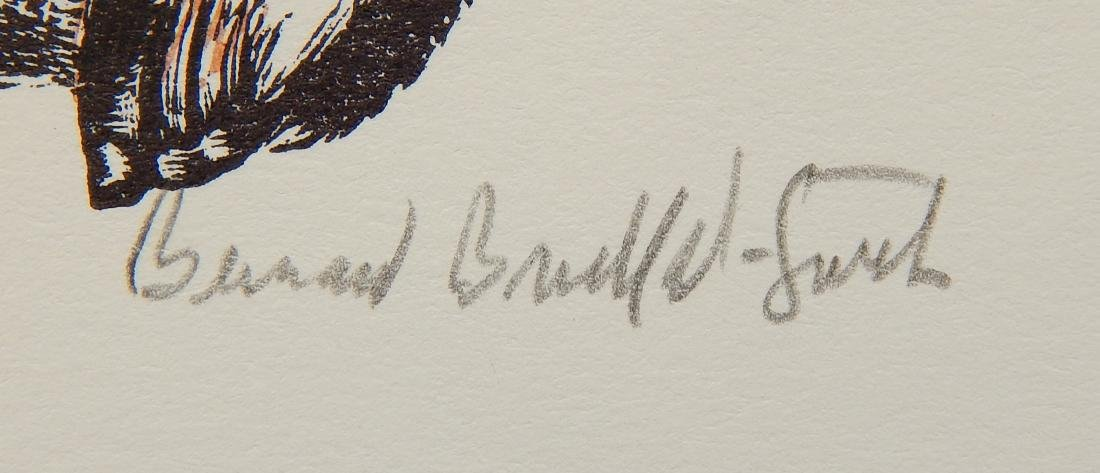 Bernard Brussel-Smith 2 wood engravings - 6
