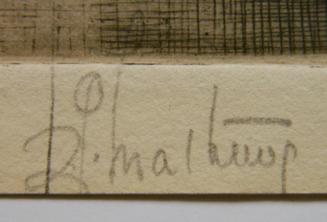 Samuel Chamberlain etching - 4