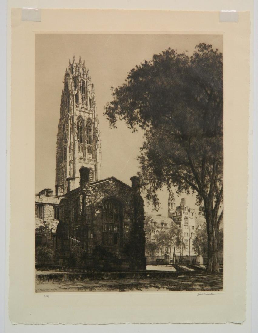 Samuel Chamberlain etching - 7