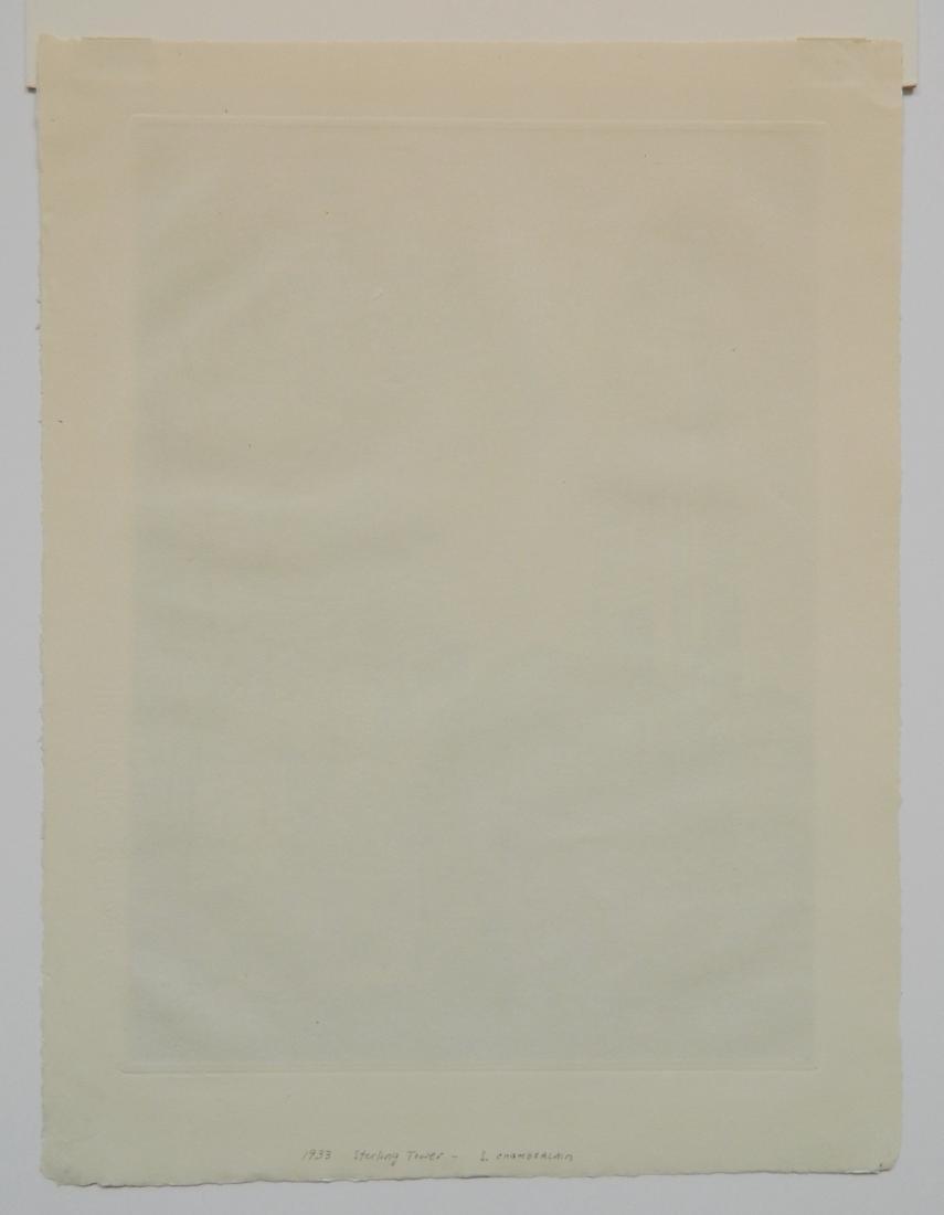 Samuel Chamberlain etching - 9