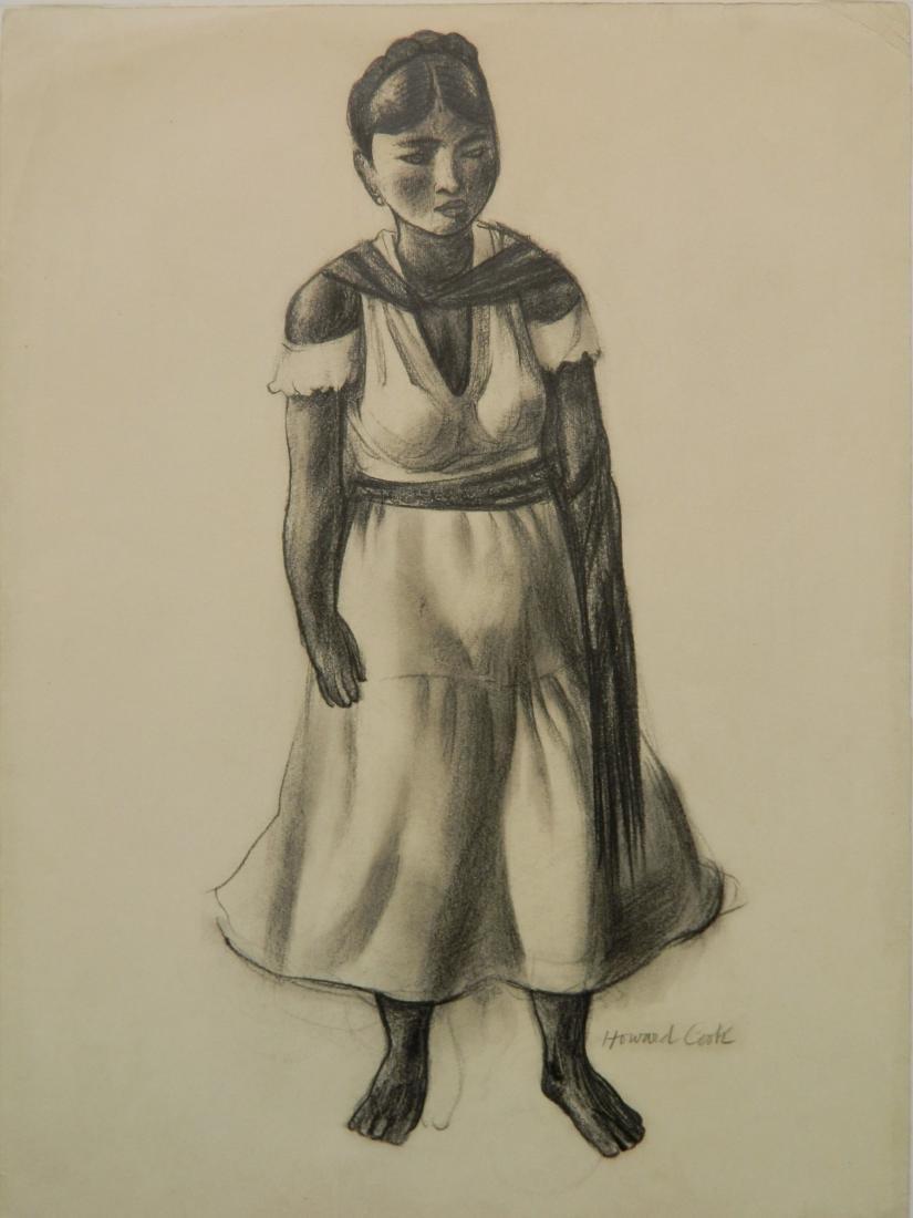 Howard Cook graphite