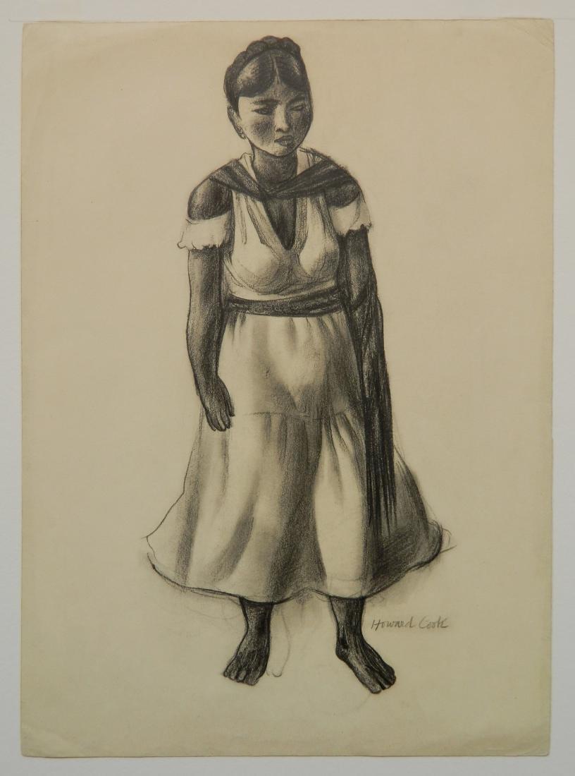 Howard Cook graphite - 2