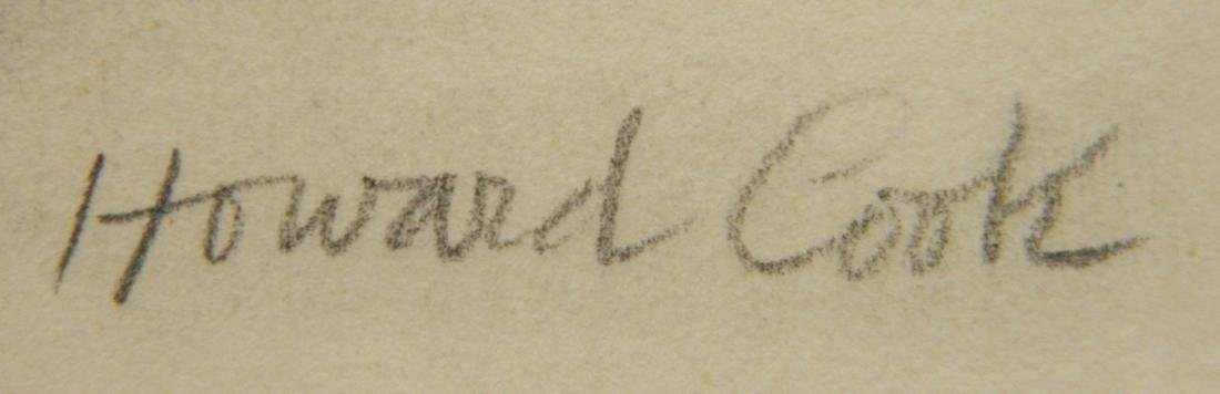 Howard Cook graphite - 3