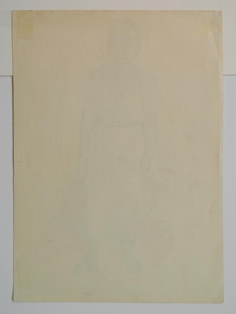Howard Cook graphite - 4