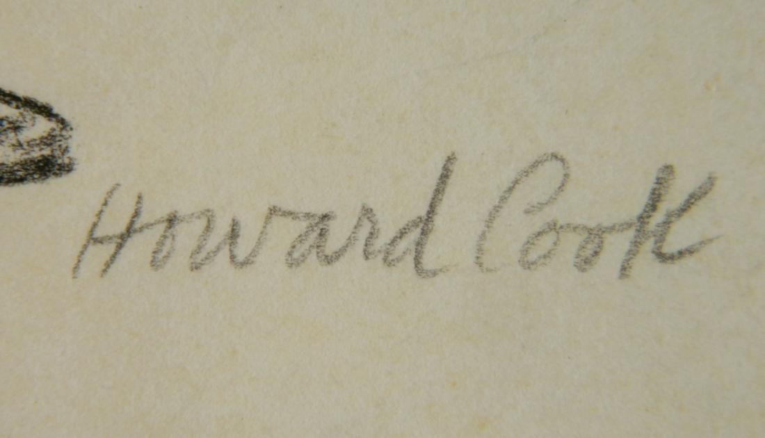 Howard Cook graphite - 4