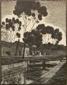 William Phelps Cunningham wood engraving