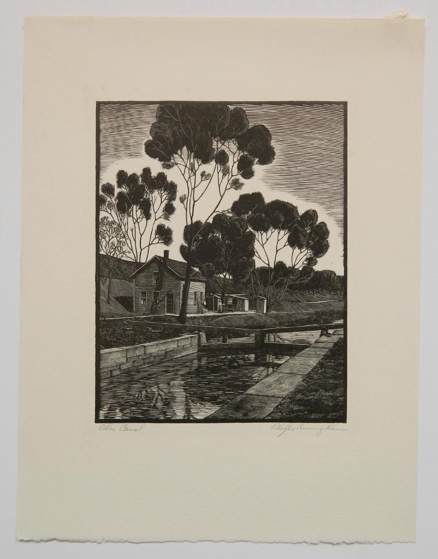 William Phelps Cunningham wood engraving - 2
