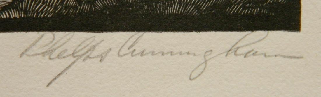 William Phelps Cunningham wood engraving - 3