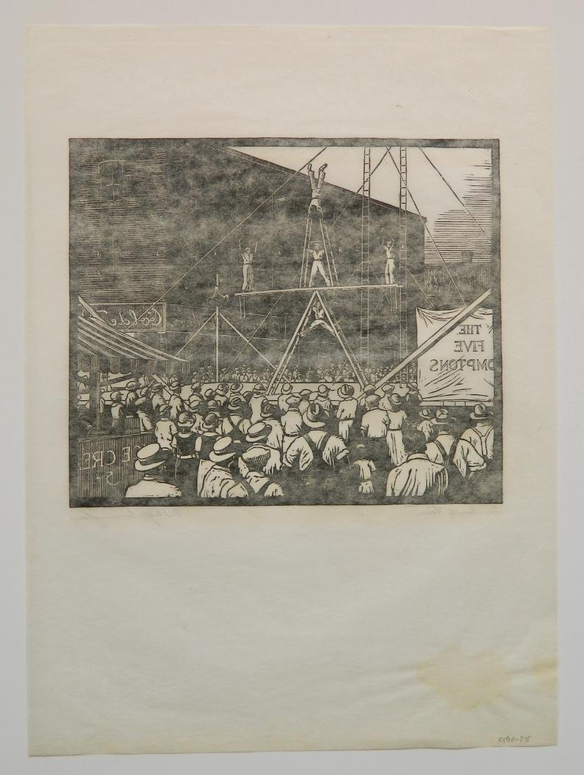 William Phelps Cunningham wood engraving - 5