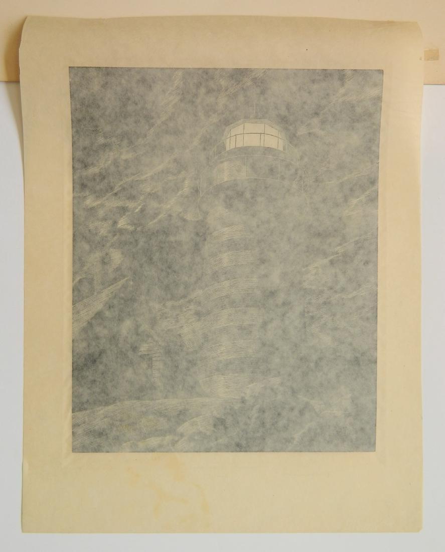Stevan Dohanos wood engraving - 4