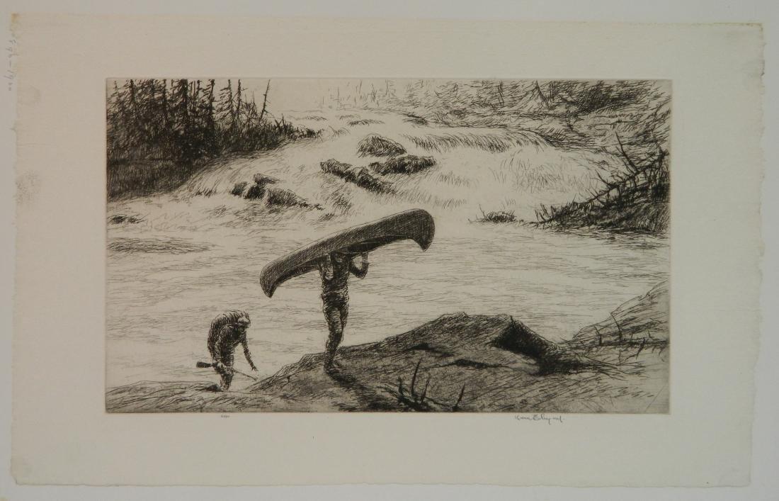 Kerr Eby 4 etchings - 5