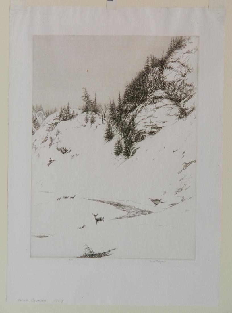 Kerr Eby 4 etchings - 9