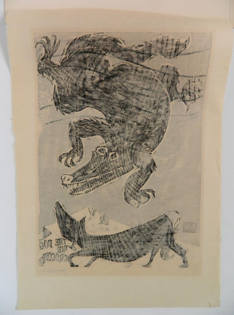 Antonio Frasconi woodcut - 4