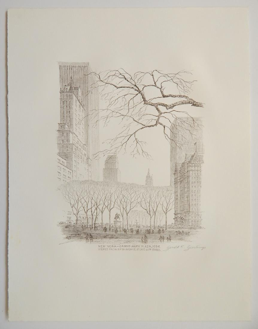 Gerald Geerlings 3 lithographs - 2