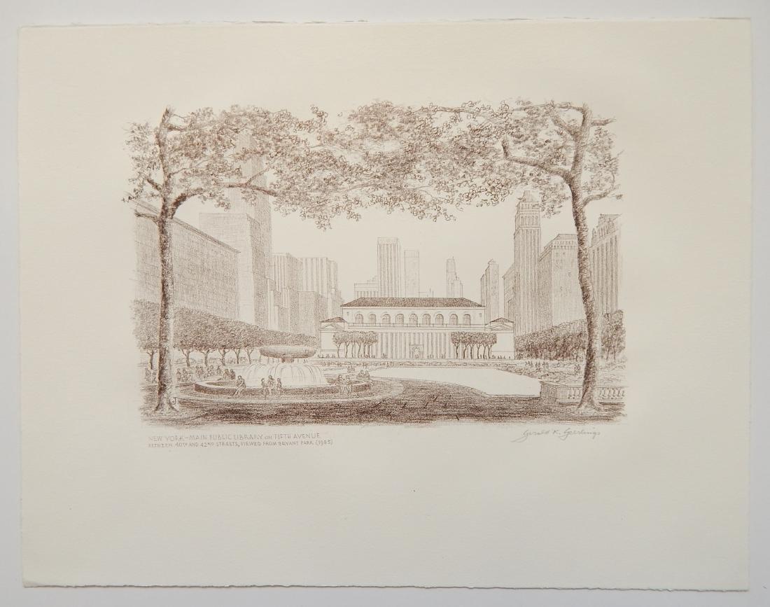 Gerald Geerlings 3 lithographs - 5