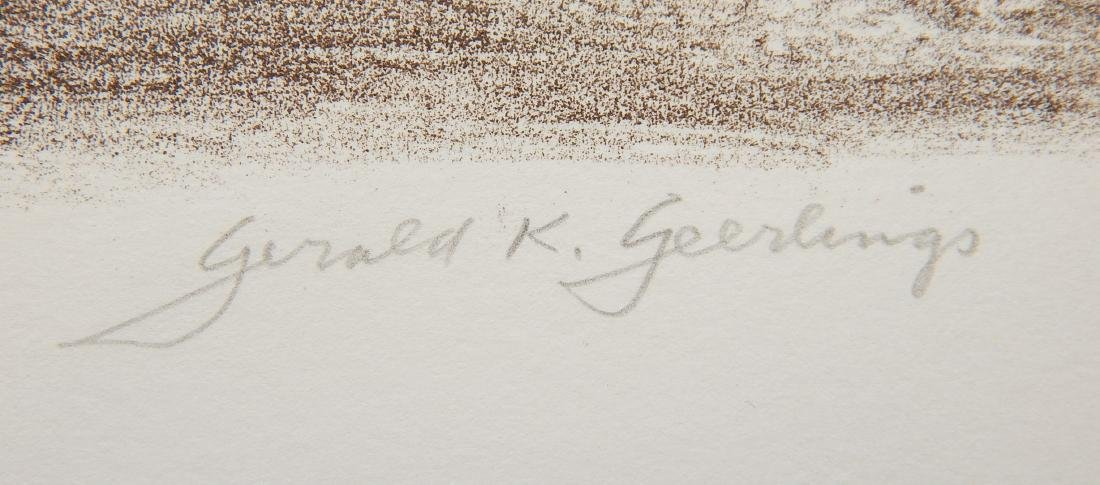 Gerald Geerlings 3 lithographs - 6