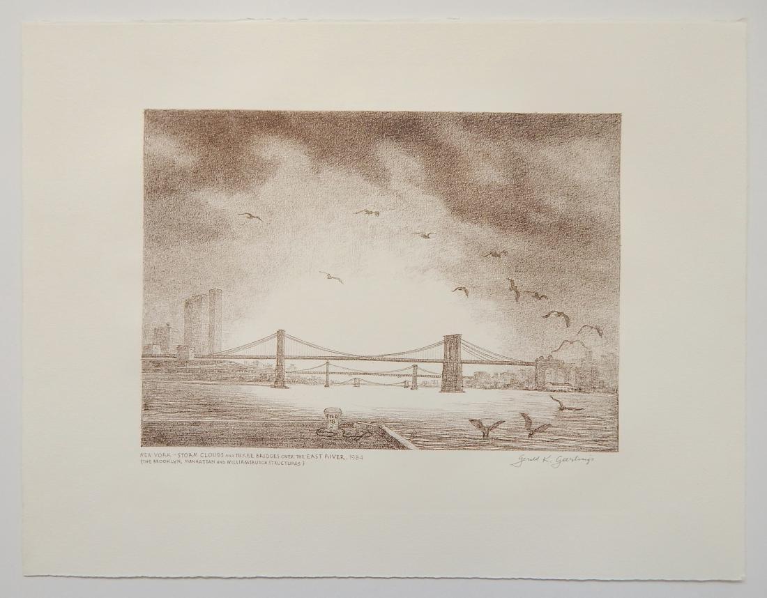 Gerald Geerlings 3 lithographs - 8