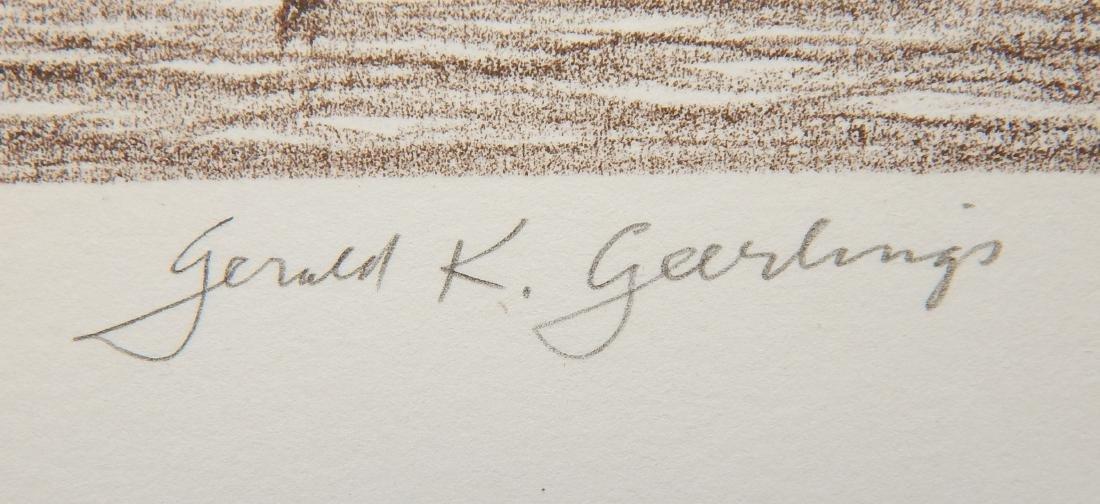 Gerald Geerlings 3 lithographs - 9