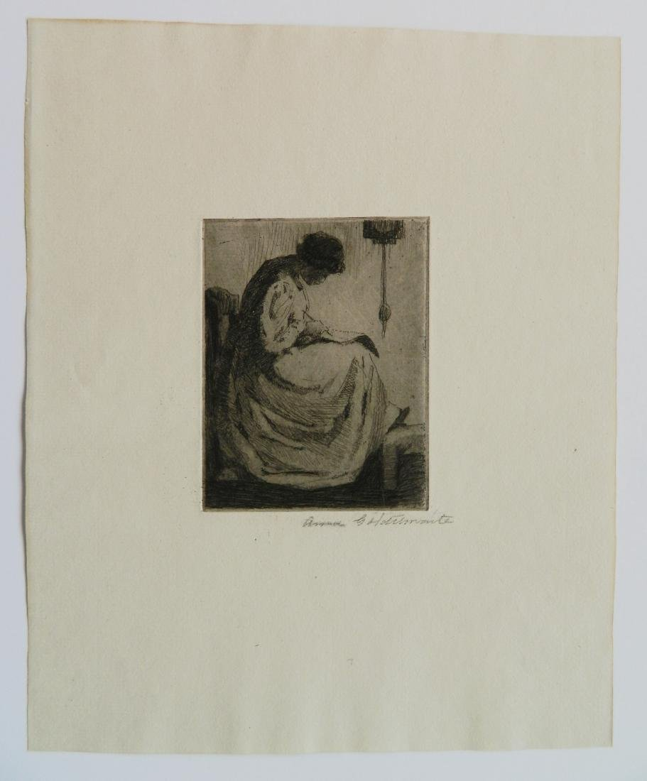 Ann Goldthwaite 3 etchings - 5