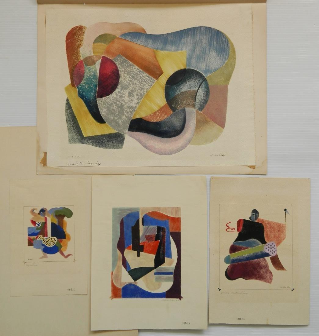 Richard Halls 4 stencils