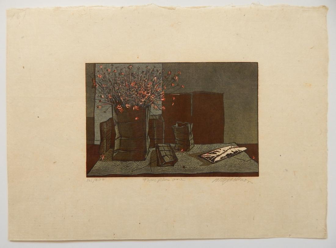 Billy Morrow Jackson woodcut - 2
