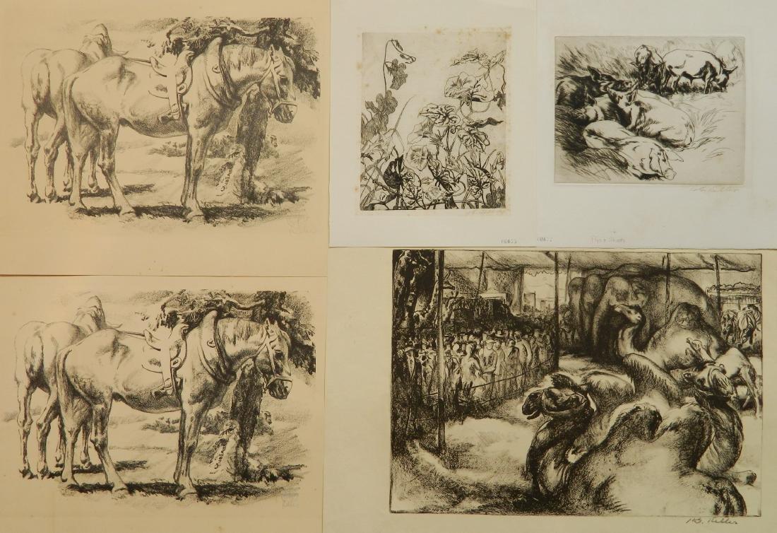 Henry G. Keller 5 prints