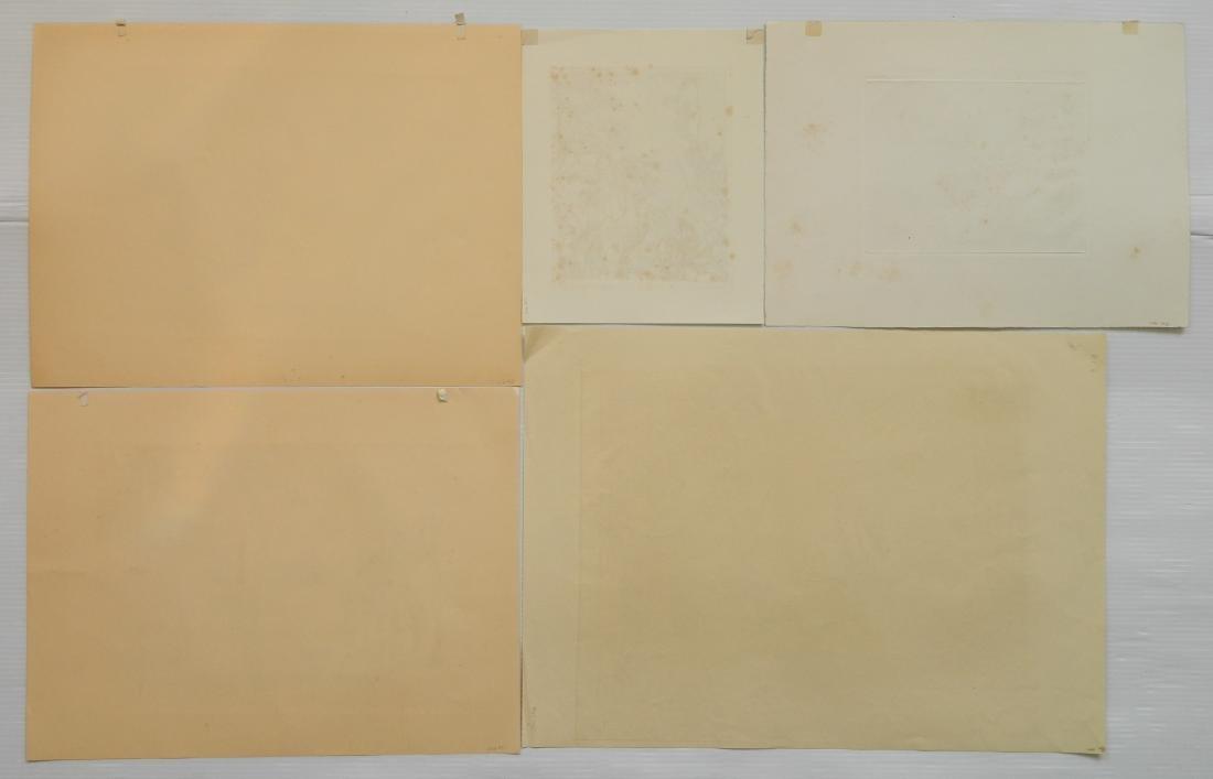 Henry G. Keller 5 prints - 2