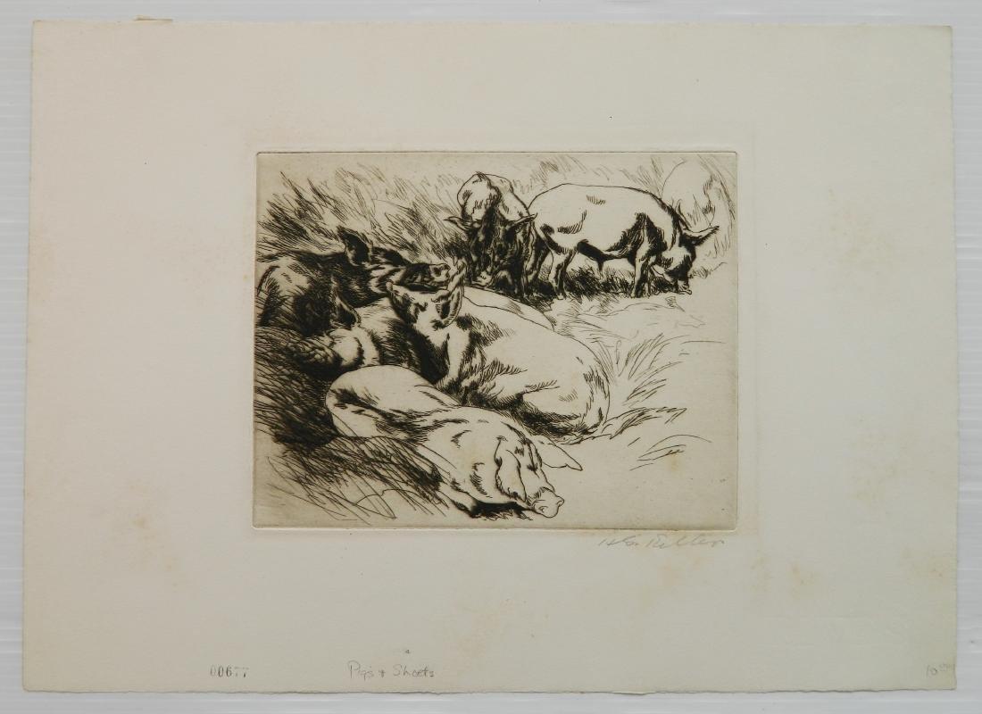 Henry G. Keller 5 prints - 8