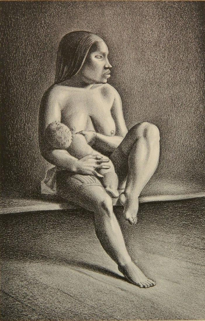Rockwell Kent lithograph