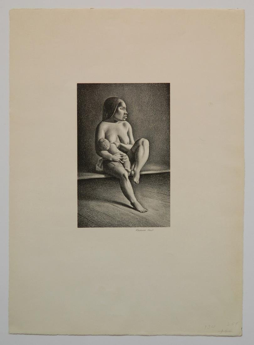 Rockwell Kent lithograph - 2