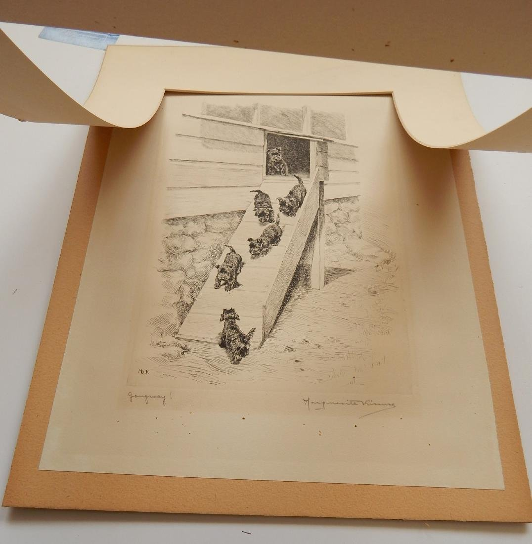 Marguerite Kirmse etching - 4