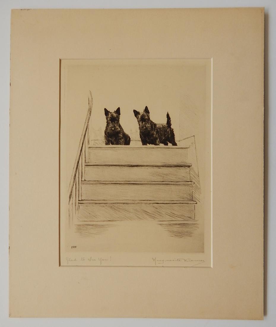 Marguerite Kirmse etching - 2