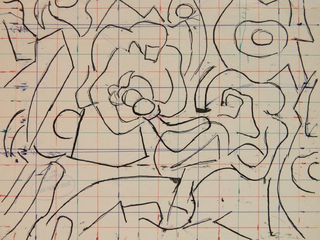 Karl Knaths colored ink