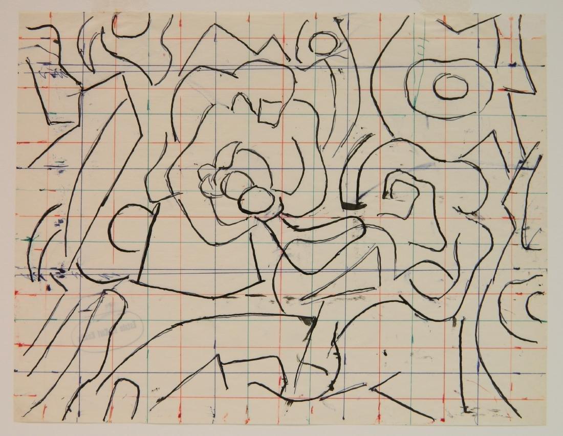 Karl Knaths colored ink - 2