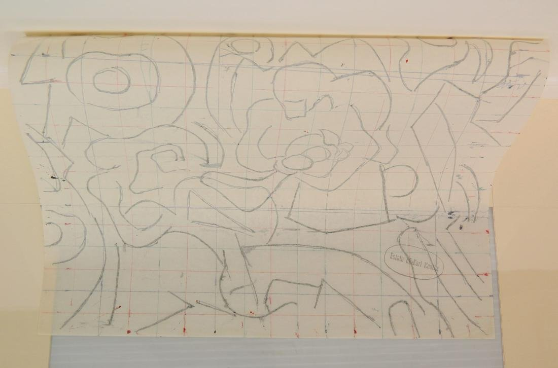 Karl Knaths colored ink - 3