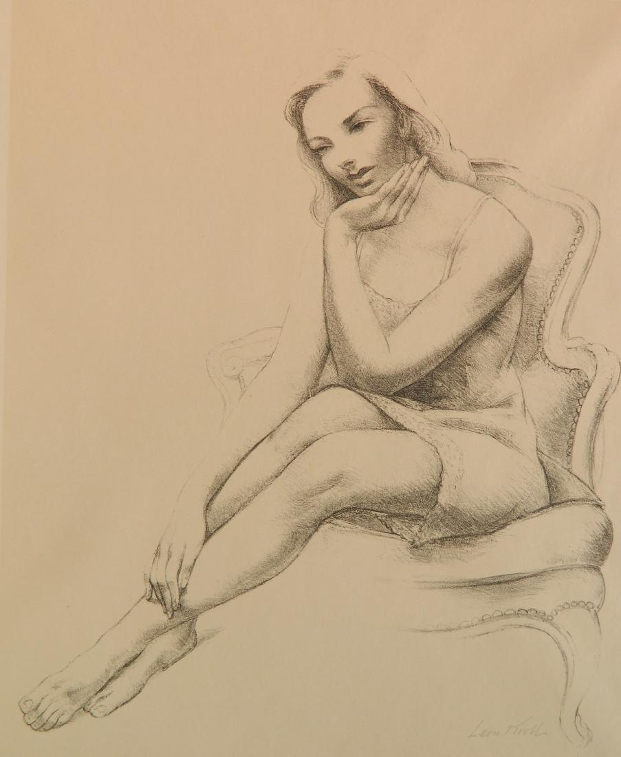 Leon Kroll lithograph