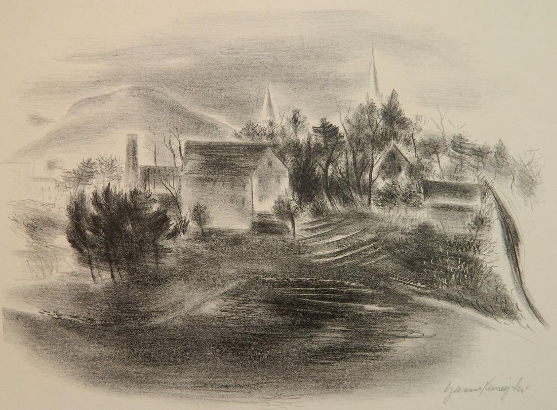 Yasuo Kuniyoshi lithograph