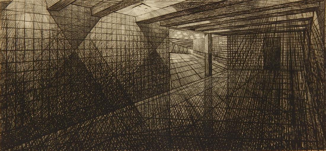 Armin Landeck engraving