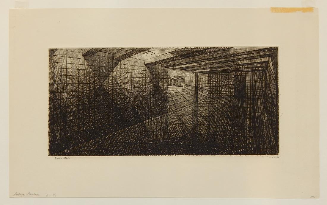 Armin Landeck engraving - 2