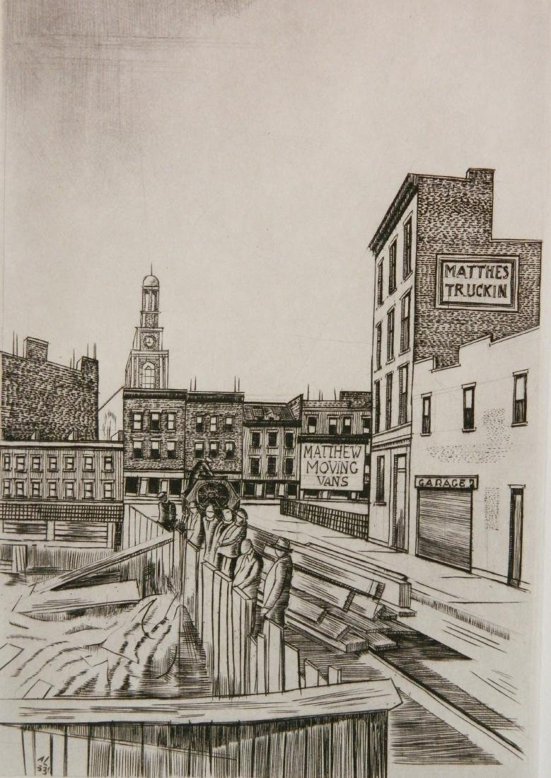 Armin Landeck etching