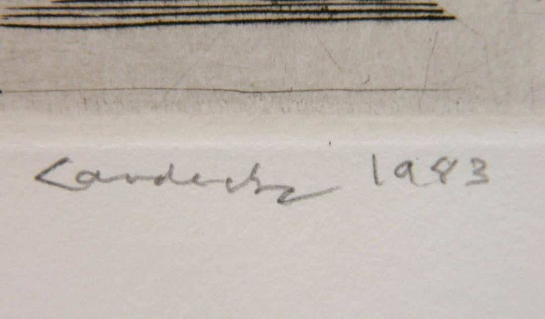 Armin Landeck etching - 3