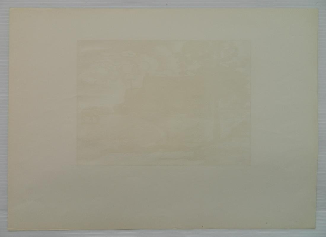 Julius J. Lankes 2 wood engravings - 8