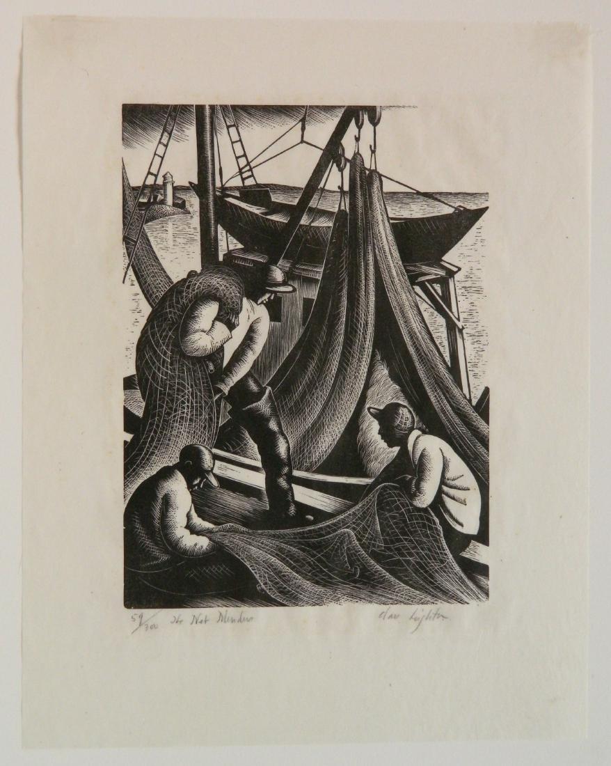 Clare Leighton wood engraving - 2