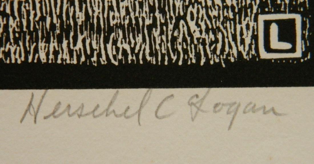Herschel C. Logan block print - 3