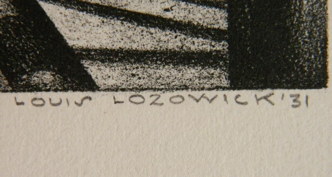 Louis Lozowick lithograph - 3
