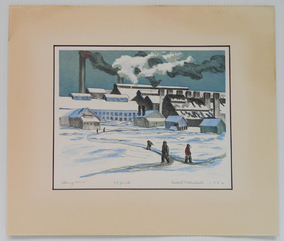 Duard Marshall lithograph - 2