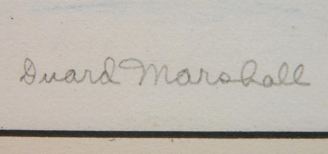 Duard Marshall lithograph - 3