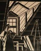 Mildred McMillen woodcut