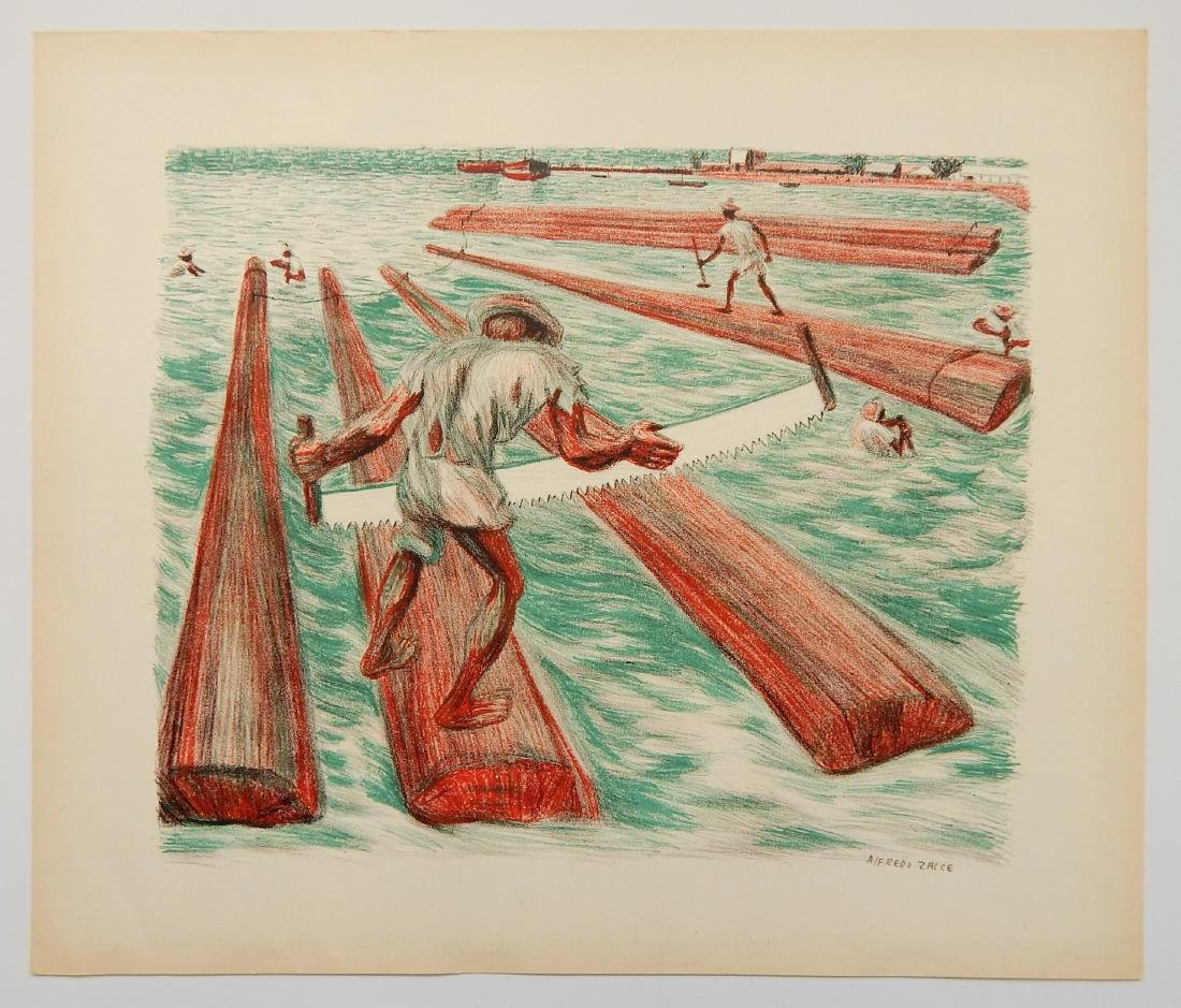 3 Mexican lithographs - 8